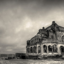 Ruins of the present.... by Lupu Radu - Buildings & Architecture Decaying & Abandoned ( black sea, cazino, romania, ruins, constanta )