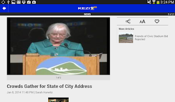 Screenshot of KEZI 9 News | Connecting You