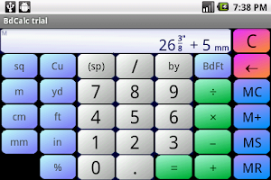 Screenshot of Board Calc