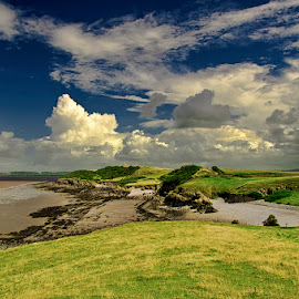 Bayview by Pete Watson - Landscapes Cloud Formations ( sky, cloud, beach, landscape, coast )