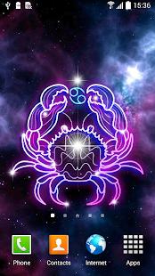 Zodiac Signs Live Wallpaper – Miniaturansicht des Screenshots