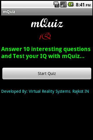 mQuiz IQ