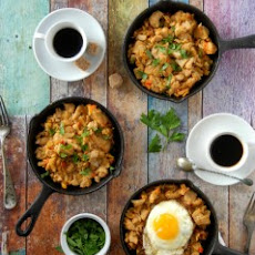 Turkey Holiday Hash {the Perfect Holiday Leftover Recipe}