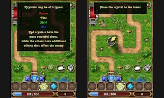 Screenshot of Crystallight Defense