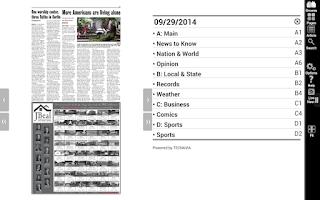 Screenshot of The Salem News- Beverly, MA