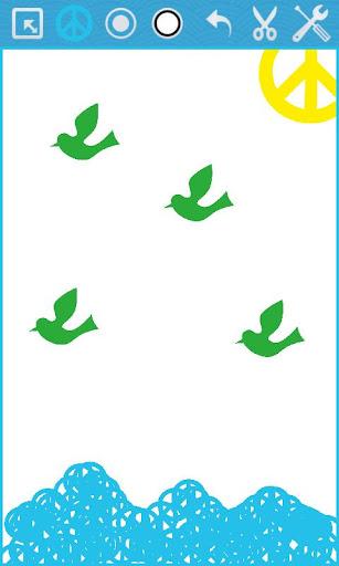 玩免費休閒APP 下載Peace Draw app不用錢 硬是要APP
