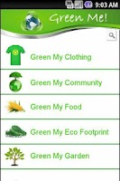 Screenshot of Green Me!