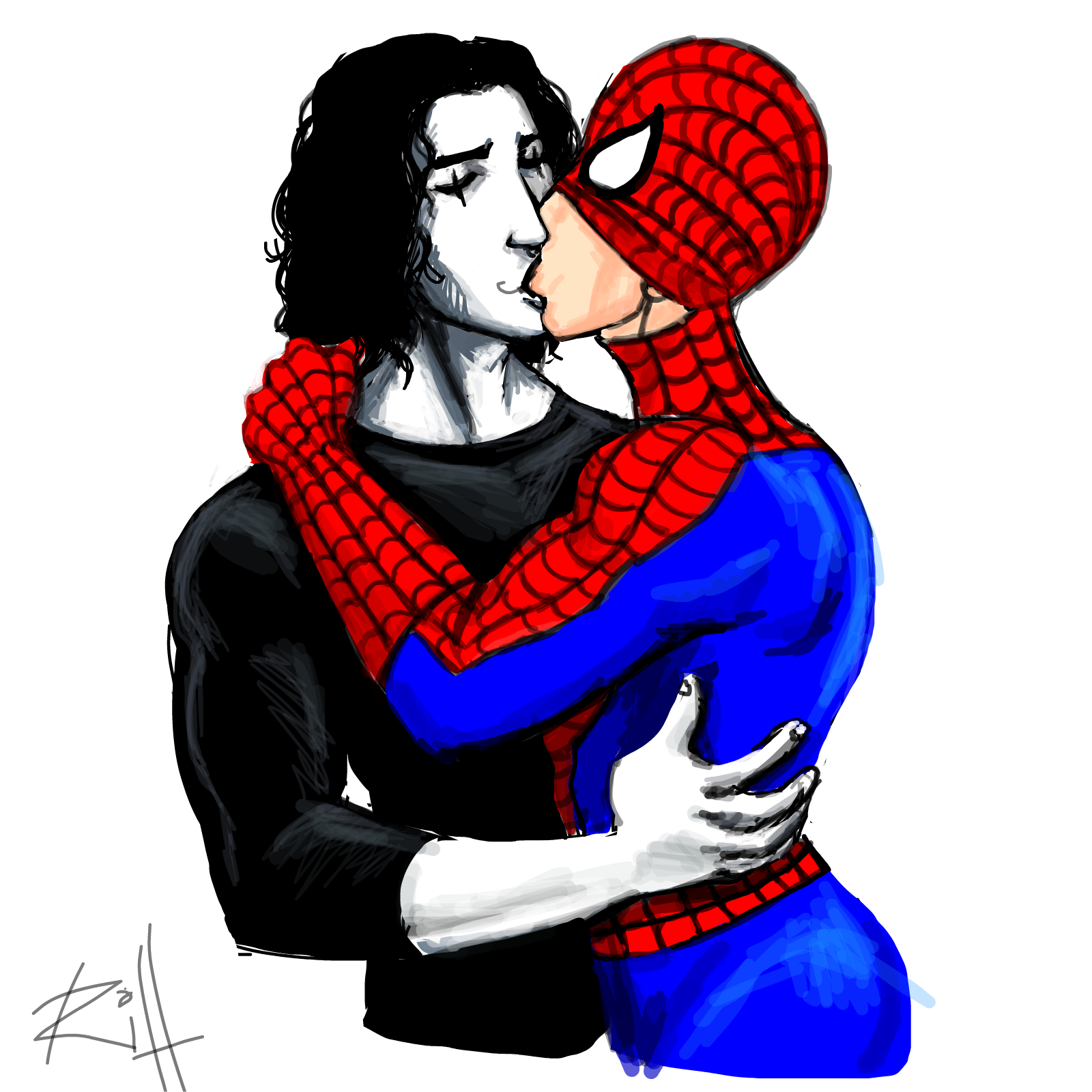 Spidey/The Crow