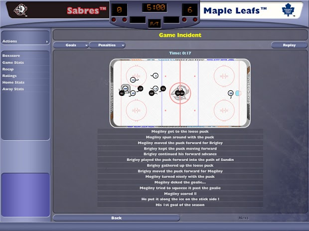 NHL: Eastside Hockey Manager 2005