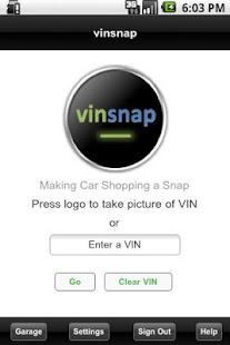 vinsnap - screenshot