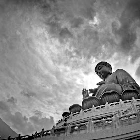 The Big Buddha by Barry Allan - Buildings & Architecture Statues & Monuments