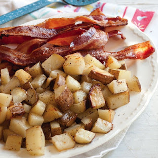 Oven-Baked Bacon and Potatoes