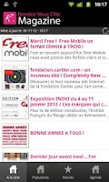 Screenshot of Rendez-Vous Chic magazine