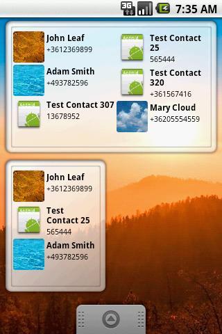 Smart Call Widget