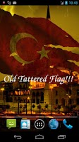 Screenshot of 3D Turkey Flag Live Wallpaper