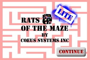 Screenshot of Rats of the Maze Lite