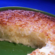 Carol's No-Crust Coconut Pie