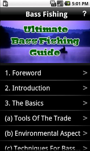 Ultimate Bass Fishing Guide