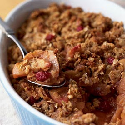 Apple-Cranberry Walnut Crisp