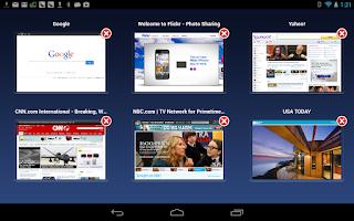 Screenshot of ScreenShare (tablet)