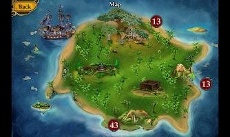 Screenshot of Pirate Mysteries Hidden Object