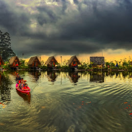 Dusun Bambu by Max Bowen - Landscapes Waterscapes