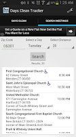 Screenshot of Days Clean Tracker