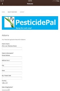 Pesticide Pal - screenshot