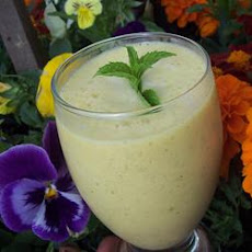 Mango-Mint Lassi with Indian Sweet Spices