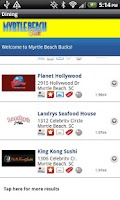 Screenshot of Myrtle Beach Guide SC