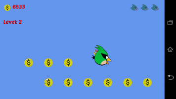 Screenshot of Crazy Bird Cruise