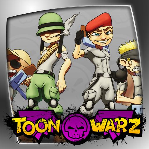 ToonWarz - LITE LOGO-APP點子