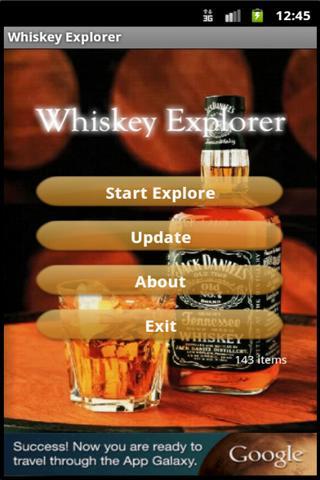 Whiskey Explorer