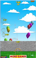 Screenshot of Exploding Balloons
