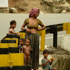 Tribal Family in Gujarat by Rupal Patel - People Family (  )