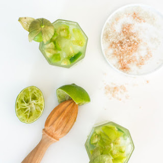 Tomatillo Cucumber Cocktail