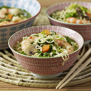 Thai Shrimp Noodle Soup