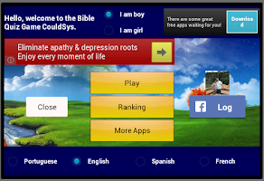 Screenshot of The Bible Game