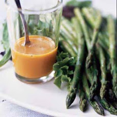 Asparagus Salad with Mustard-Soy Dressing