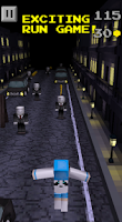 Screenshot of Pixel Runner - Slender Man