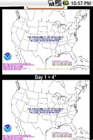 Screenshot of Winter Weather Snow Outlooks