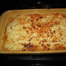 Christmas Leftovers Shepherd's Pie