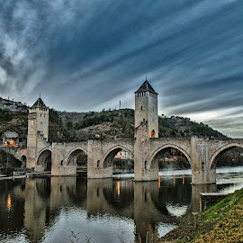 Pont Valantre' Cahors by Alessandro Scacchetti - Buildings & Architecture Bridges & Suspended Structures