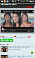 Screenshot of Bollywood Movie Songs Hindi