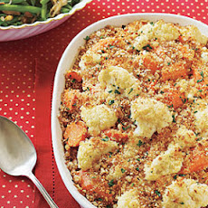 Cauliflower-Carrot Casserole