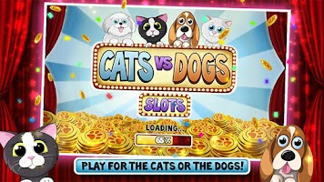 Screenshot of Cats vs Dogs Slots