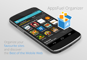 Screenshot of AppsFuel Organizer