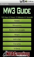 Screenshot of MW3 Guide