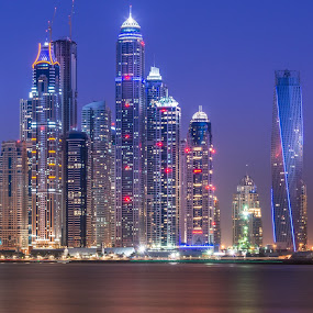 Marina  by Walid Ahmad - Buildings & Architecture Office Buildings & Hotels ( dubai, d800, nikon, photography )