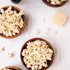 Lemon, Parmesan and Black Pepper Popcorn